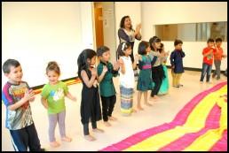 Bollywood Kids workshop with Stuti Aga Zurich Switzerland