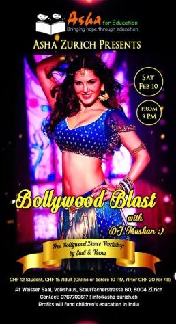 Bollywood Disco Asha Zuerich Switzerland 2018