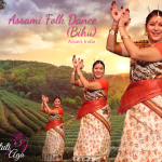 Bihu Indian Folk dance from Assam in Switzerland with Stuti Aga