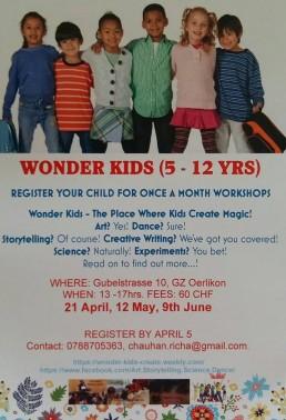 Wonder Kids workshop