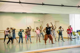 Sunny Singh in Switzerland for a weekend of Bollywood dance workshops with Stuti Aga SADC Zurich BollyKids dance workshop