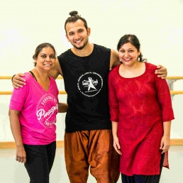 Sunny Singh in Switzerland for a weekend of Bollywood dance workshops with Stuti Aga SADC Zurich Smita Kishore and Sunny Singh