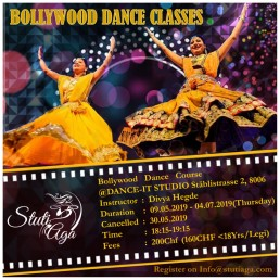SADC Bollywood Tanz kurs regelmassig Zurich Regular bollywood dance course Zurich Switzerland