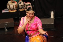 Stuti Aga dance performance with manish Vyas and Band at Choessi Theater Lichtensteig,Switzerland