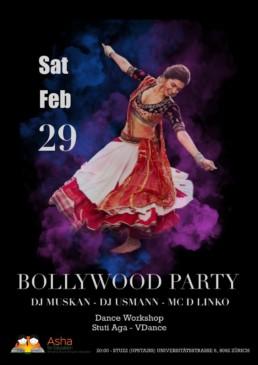 Bollywood dance charity workshop 2020 Asha Zurich by Stuti Aga