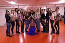 Bollywood theme Hen Party dance workshop with Stuti Aga in Zurich Switzerland
