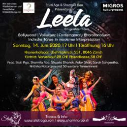 Leela - A magical dream An Indian Fusion Dance Production Zurich Switzerland. Indische Tanzshow