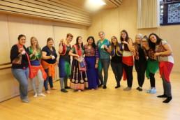Bollywood thema Polterabend im Zurich fur frauen mit Stuti Aga