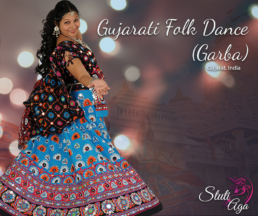 Gujarati Folk Indian Folk dance Garba Workshop in Zurich Switzerland