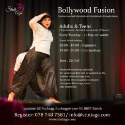 SADC Bollywood Tanz kurs regelmassig Zurich Regular bollywood dance course Zurich Switzerland