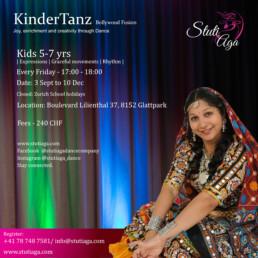 SADC Kinder Bollywood Tanz kurs Jeder woche Zurich